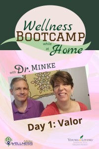 Day 1 Valor - Wellness Bootcamp while at Home